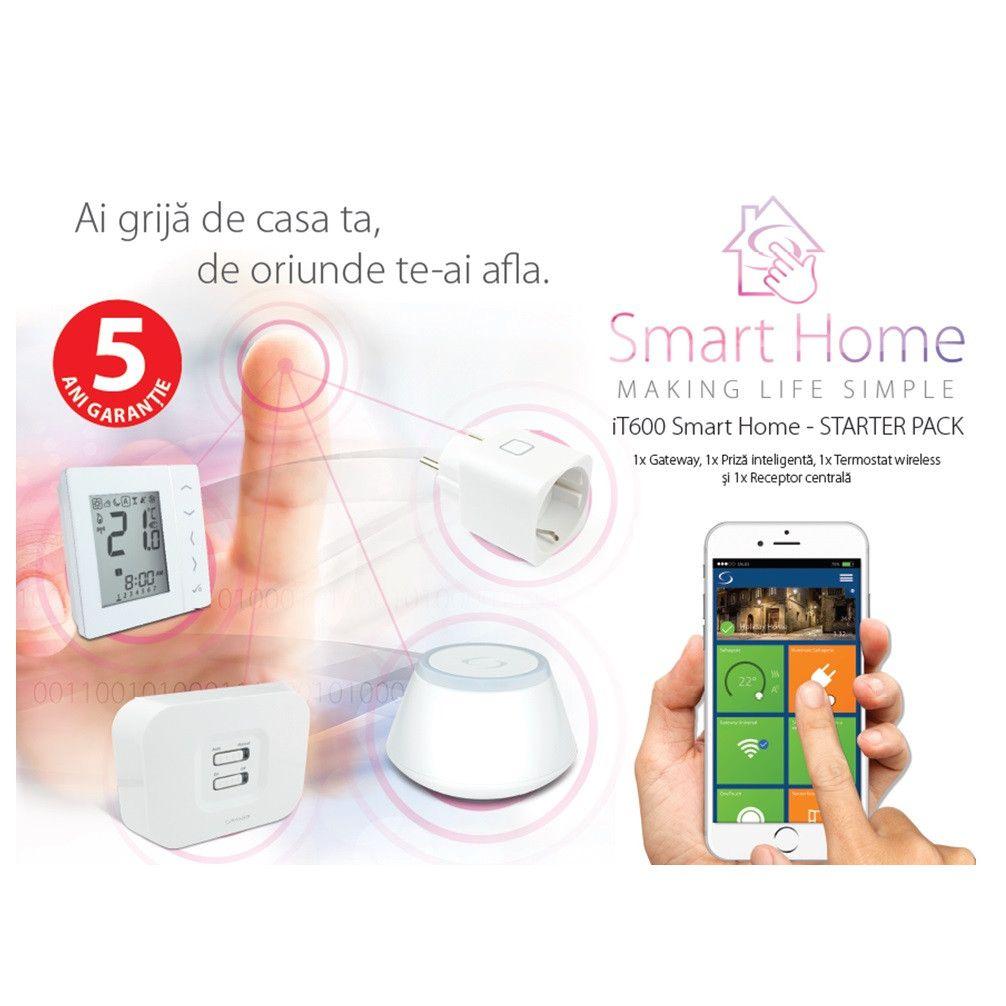 Smart Home Termostat Salus iT600 – Pachet de baza.