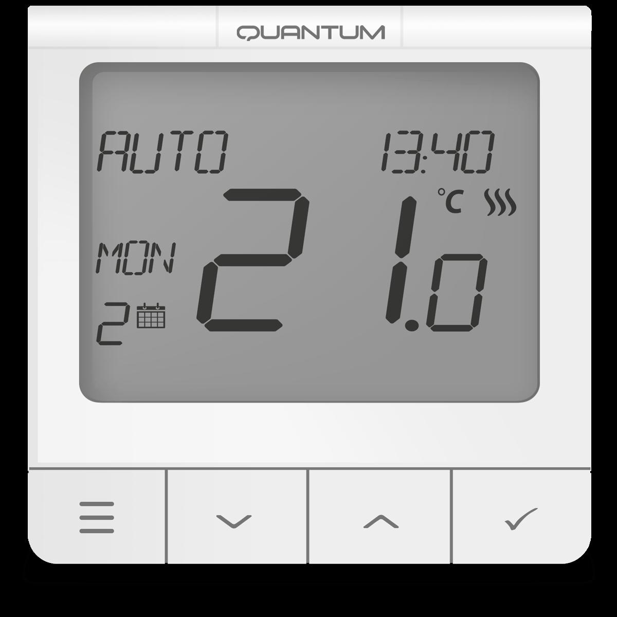 SALUS WQ610RF TERMOSTAT SERIA QUANTUM CU RADIO COMANDĂ – 5 ANI GARANTIE
