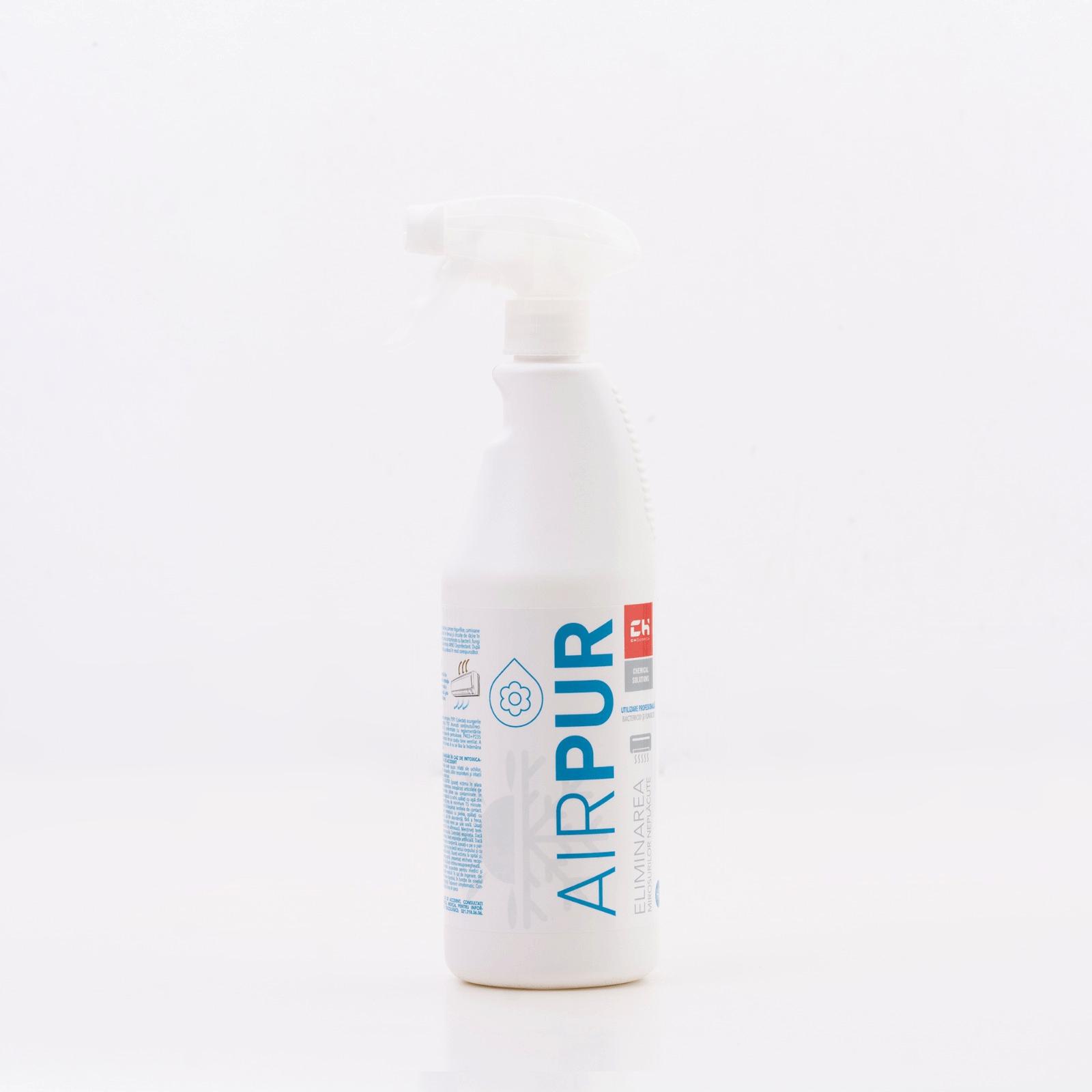 AIRPUR HA Produs de igienizare pentru eliminarea mirosurilor neplăcute din circuitele de aer condiţionat.